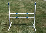Agility Gear Training Jump - (One Jump with Two 30 inch Striped Bars)