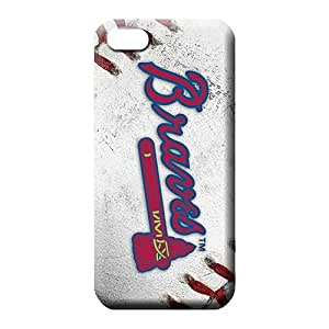 iphone 5 5s Eco Package Perfect Cases Covers Protector For phone phone back shell atlanta braves mlb baseball