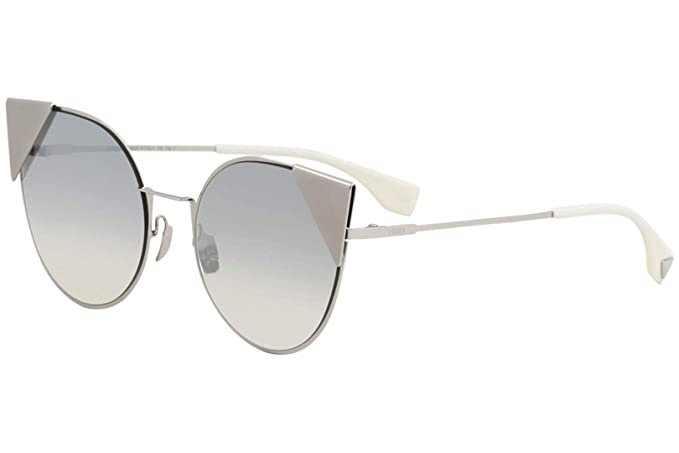 6312197e1976a Fendi FF0190 S 010 Palladium FF0190 S Cats Eyes Sunglasses Lens Category 2  Lens  Amazon.co.uk  Clothing