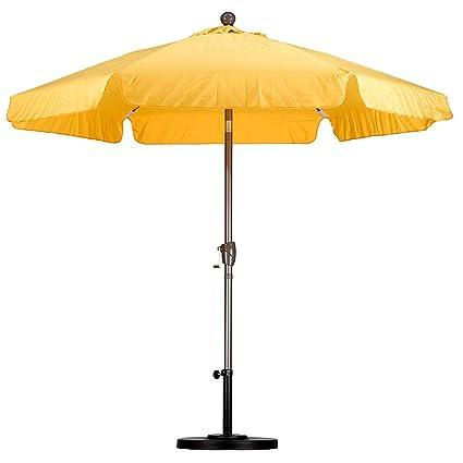 c958dd16af44 Amazon.com : Offset-Umbrella. Outdoor Adjustable Parasol W ...