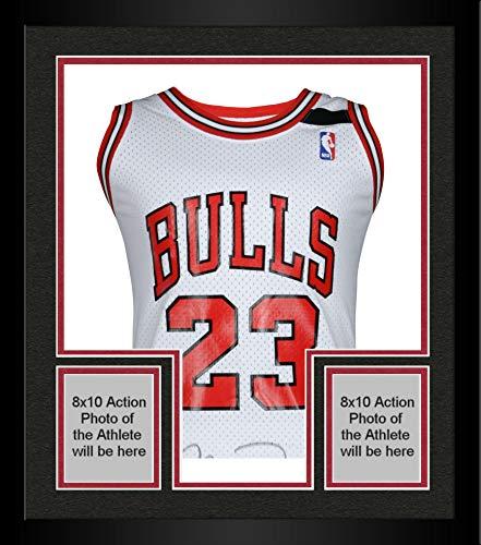 Framed Michael Jordan Chicago Bulls Autographed 1992 White Mitchell & Ness Jersey - Upper Deck - Fanatics Authentic Certified