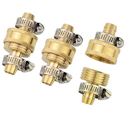 3Sets Brass Smaller 1/2