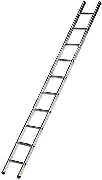 WOLFPACK LINEA PROFESIONAL 23020592 Escalera Aluminio Industrial 300 1 Tramo 10 Peldaños: Amazon.es: Bricolaje y herramientas