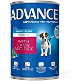 Advance Puppy Lamb 410g Dog Wet Food, pack of 12