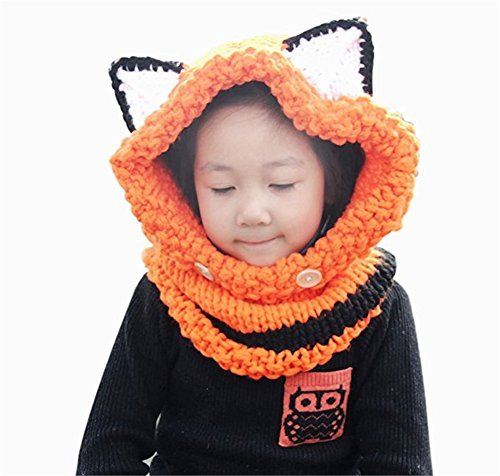 Malltop Baby Winter Knitted Woolen Fox C - Classic Hooded Hat Shopping Results