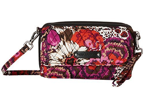 Vera Bradley Women's All in One Crossbody for iPhone 6+ Rosewood Cross Body by Vera Bradley