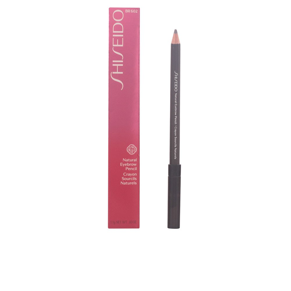Shiseido Natural Eyebrow Pencil BR602, Deep Brown, 0.03 Ounce