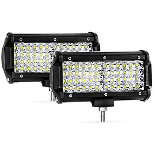 Quad Row Led Pods 2Pcs 7 288W LED Light Bar Spot Beam LED Cubes for Truck Boat Motorcycle Jeep