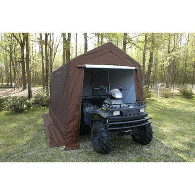 King Canopy Storage Shed with Steel Frame 556011