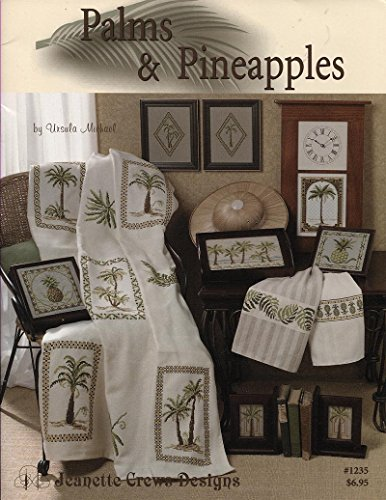 Palms and Pineapples - Counted Cross Stitch