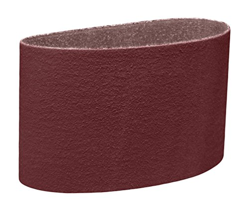 3M 76353 Cloth Belt 341D, 8'' x 107'' 50 X-weight, Cloth Backing, Aluminum Oxide Abrasive Grit, 8'' width, 107'' Length, (Pack of 20) by 3M