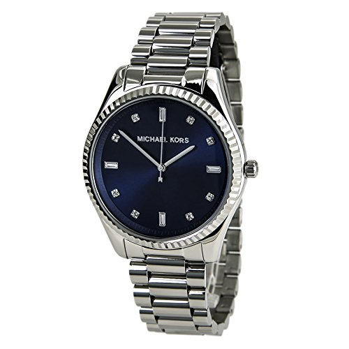 Michael Kors Blake Blue Dial Stainless Steel Women's Watch MK3225 Dark Navy Blue Dial