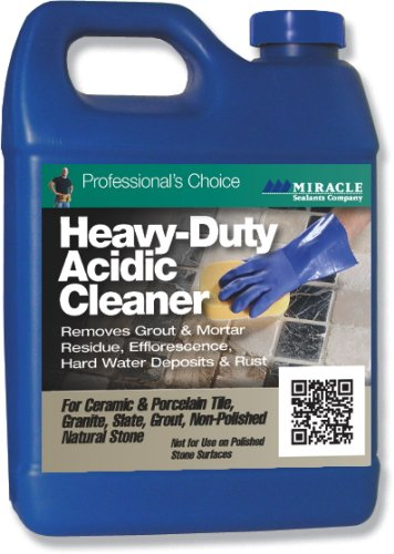 Miracle Sealants HDAC6QT Heavy Duty Acid Cleaner, Quart by Miracle Sealants