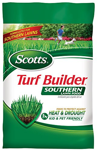 Scotts Southern Turf Builder Lawn Food Fertilizer, 2,500 ...