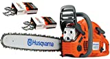 """Husqvarna 455 Rancher (55cc) Cutting Kit, includes a 455 Rancher chainsaw PLUS 20"""" Bar/Chain PLUS 3 Extra WoodlandPRO Chain Loops"""