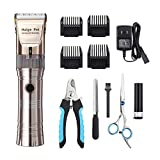 Dog Clippers,Haige Pet Grooming Electric Clipper Kit,Professional...
