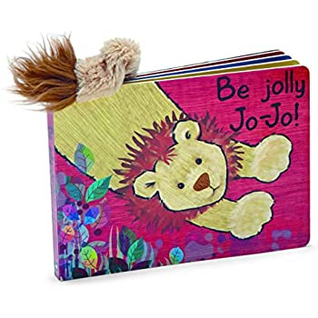 Jellycat Board Books, Be Jolly Jo-Jo
