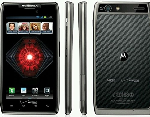 Motorola Droid RAZR MAXX Limited Edition XT912 XT912M Verizon LTE Black Red