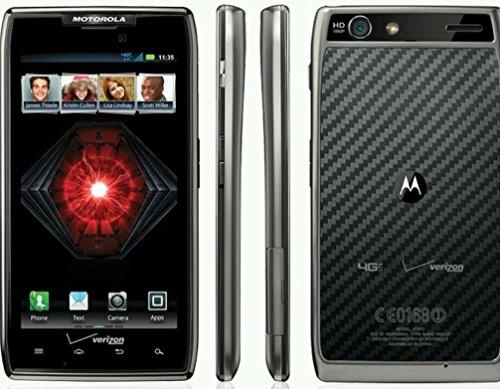 - Motorola Droid RAZR MAXX Limited Edition XT912 XT912M Verizon LTE Black Red