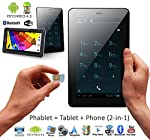 """inDigi® 7"""" Android 4.2 JB Tablet PC w/ Sim Card Slot for Wireless SmartPhone NEW"""