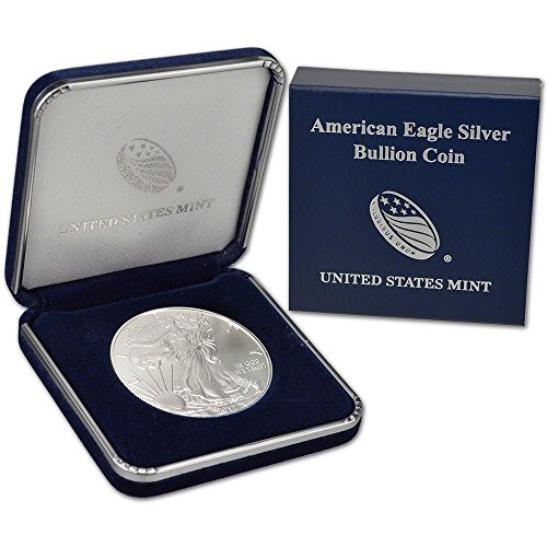2017 American Silver Eagle (1 oz) US Mint Giftbox $1 Brilliant Uncirculated US Mint (Coins Silver Us Mint)