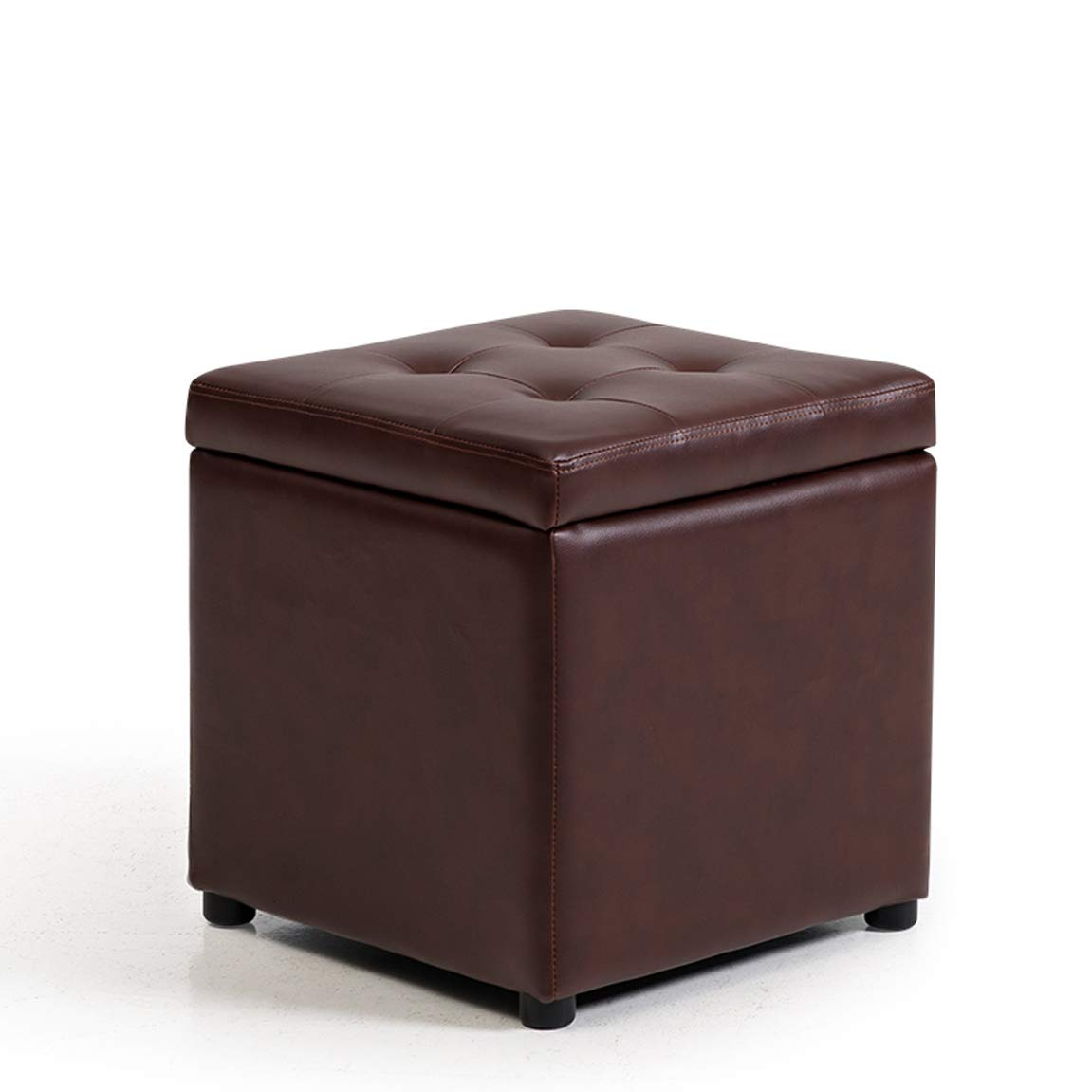 G S 343436 cm CIGONG Storage Stool Leather Bench Change shoes Stool Pier Hall Sofa Stool Storage Stool Low Stool Footstool shoes Bench Stool 34x34x36cm 40x40x40cm Wooden Bench (color   B, Size   L 40  40  40 cm)