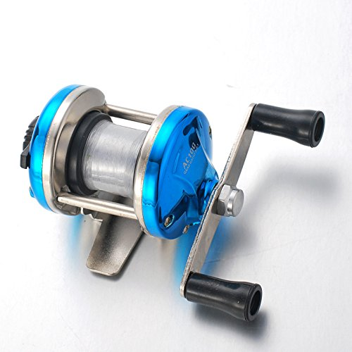 Yiwa Fishing Reel Mini Metal Bait Casting Spinning Reel Ice Fishing Reel Fish Water Wheel Baitcast Roller