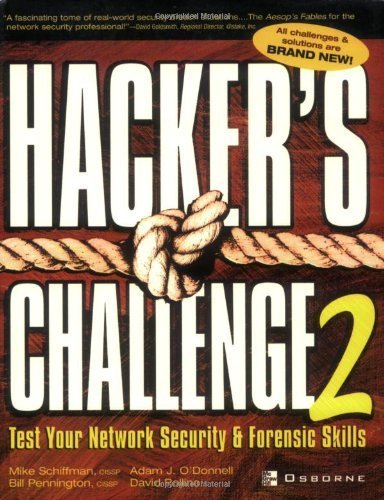 Hackers Challenge 2 Test Your Network Security /& Forensic Skills