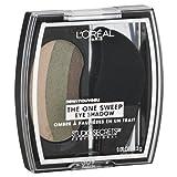 L'oreal Paris Studio Secrets Professional the One-sweep Eye Shadow, Playful Green/hazel Eyes, 0.09-ounce, 2 Ea For Sale
