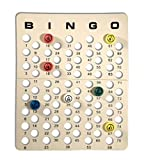 Mr. Chips Universal Bingo Masterboard for Ping Pong Bingo Balls by, Inc