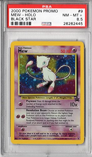 PSA Near Mint - Mint+ 8.5: Mew - Holo (9) - Pokemon (Promo) Photo