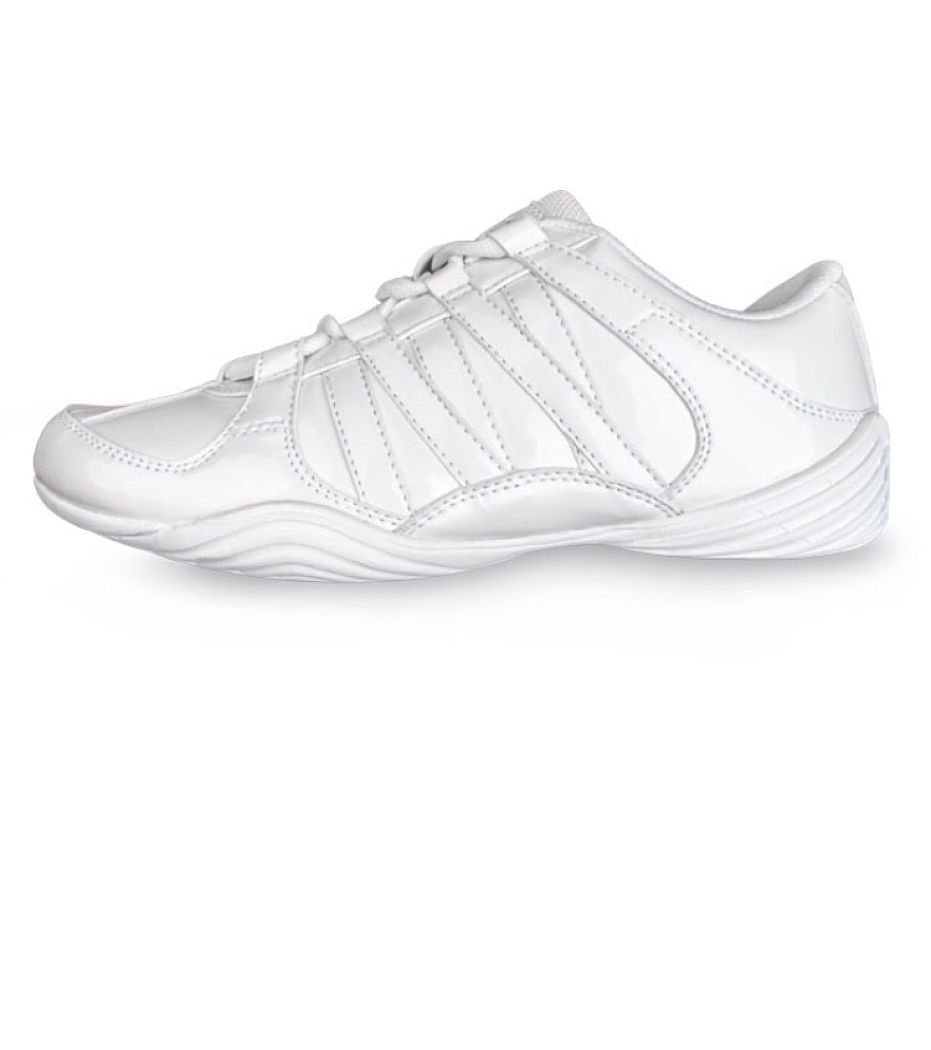 Eight Count Glitz Cheer Shoe 3.0 Youth White by Eight Count (Image #1)