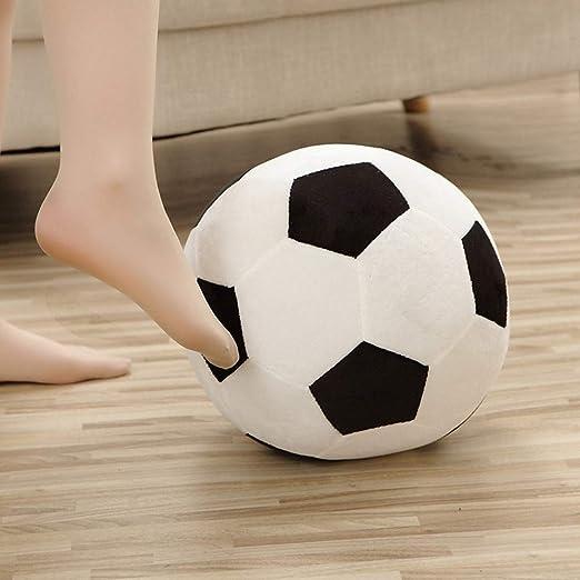 ChuXing Almohada de Pelota de fútbol de Felpa Grande, Almohada de balón de fútbol, Juguete Deportivo Suave para niños, 11.7 pulgadas/17.5 Pulgadas: Amazon.es: Hogar