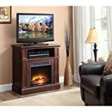 Cheap Whalen 31″ Cherry Media Fireplace for TVs up to 42″
