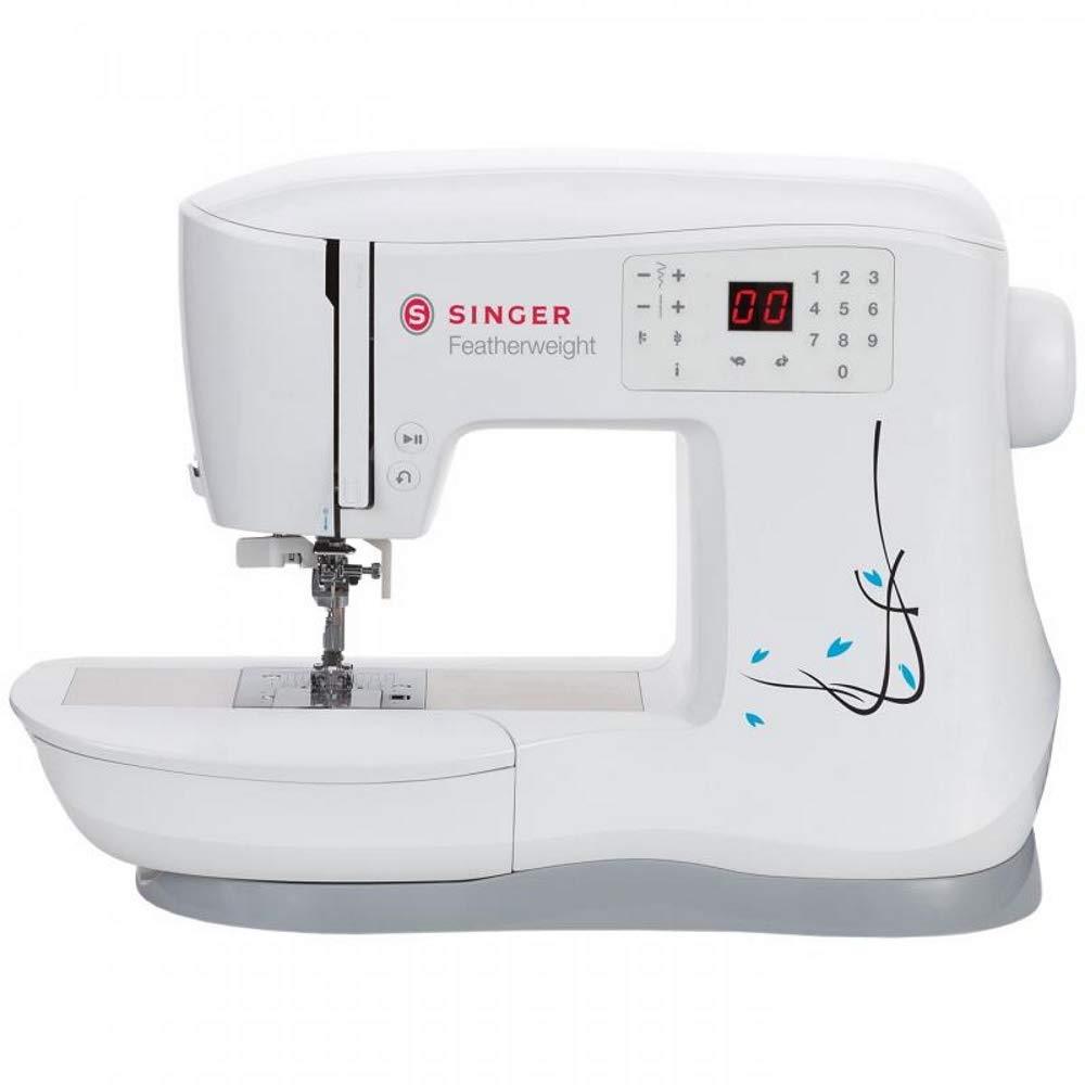 Singer 230144001 Featherweight C240 Sewing Machine Plastic White L 43 x W 23 x H 32 cm