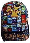 mochila escolar pokemon pikachu infantil