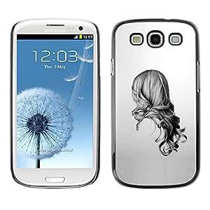EJOY---Cubierta de la caja de protección la piel dura para el ** Samsung Galaxy S3 ** --Belleza Volver