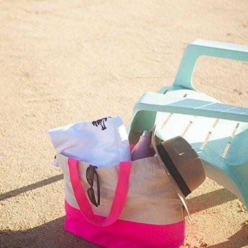 Microfiber Beach Towel - bag 1