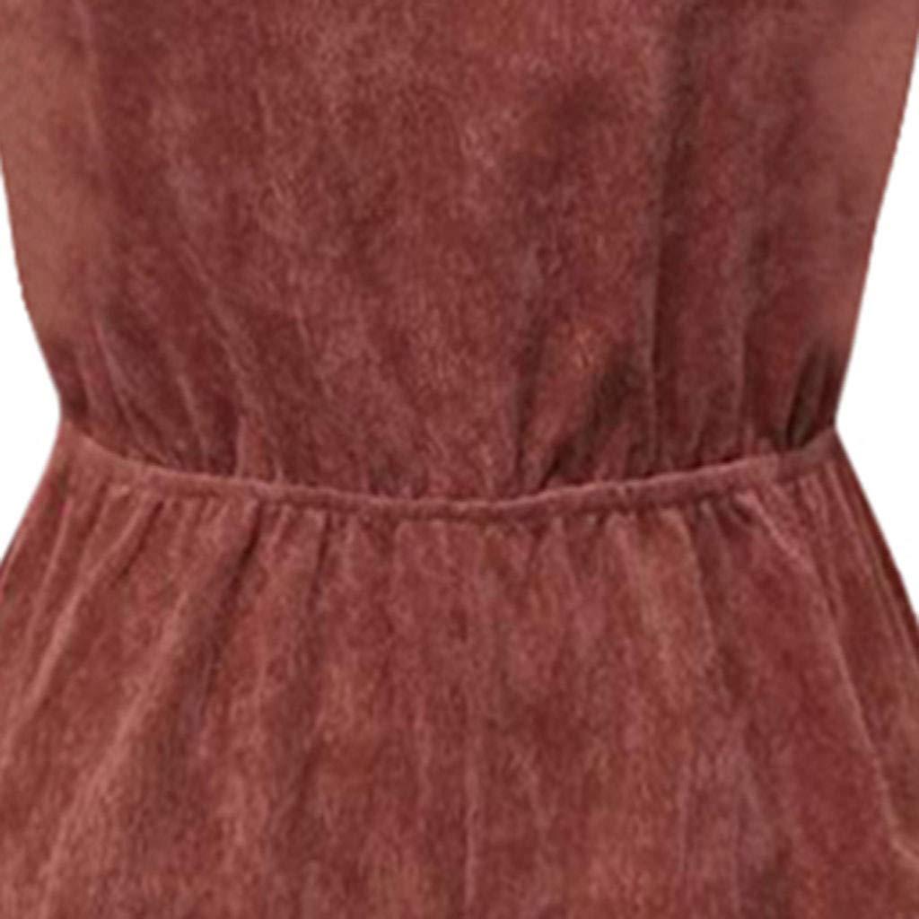 Psunrise Mono Women Fashion Causal Adjustable Strap V-Neck Elastic Waist Sleeveless Short Camis Jumpsuit(L, Black) by Psunrise (Image #7)