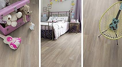 Suelo vinílico adhesivo - Efecto madera - CF. 1 m² – Medidas: 15,2 ...