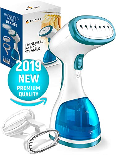 ELIFIRE Premium Handheld Steamer for Clothes - Strong Steam Clothes Steamer - Fast Heat-up Travel Steamer - Anti-drip Design Garment Steamer - Portable Clothing Steamer with Gift Box - Mini Steamer