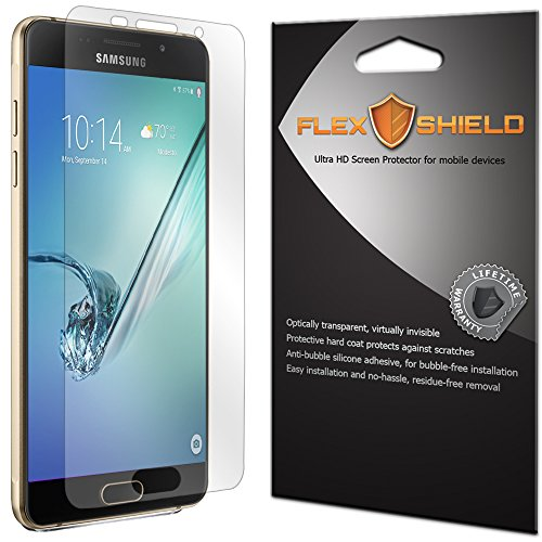Samsung Galaxy A5 Screen Protector (5-Pack), Flex Shield Clear Screen Protector for Samsung Galaxy A5 (2016) Bubble-Free and Scratch Resistant Film