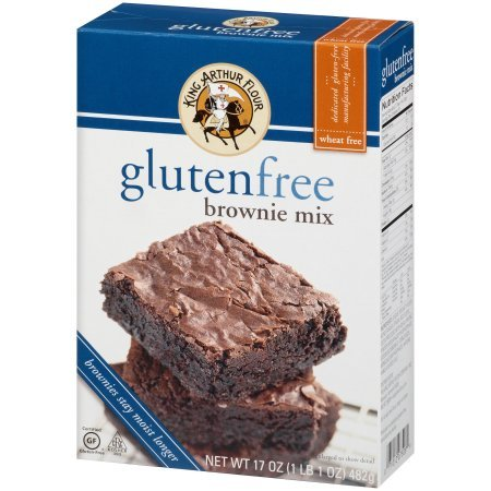 PACK OF - 8 King Arthur Flour Gluten Free Brownie Mix 17 oz. Box by Great Value (Image #6)