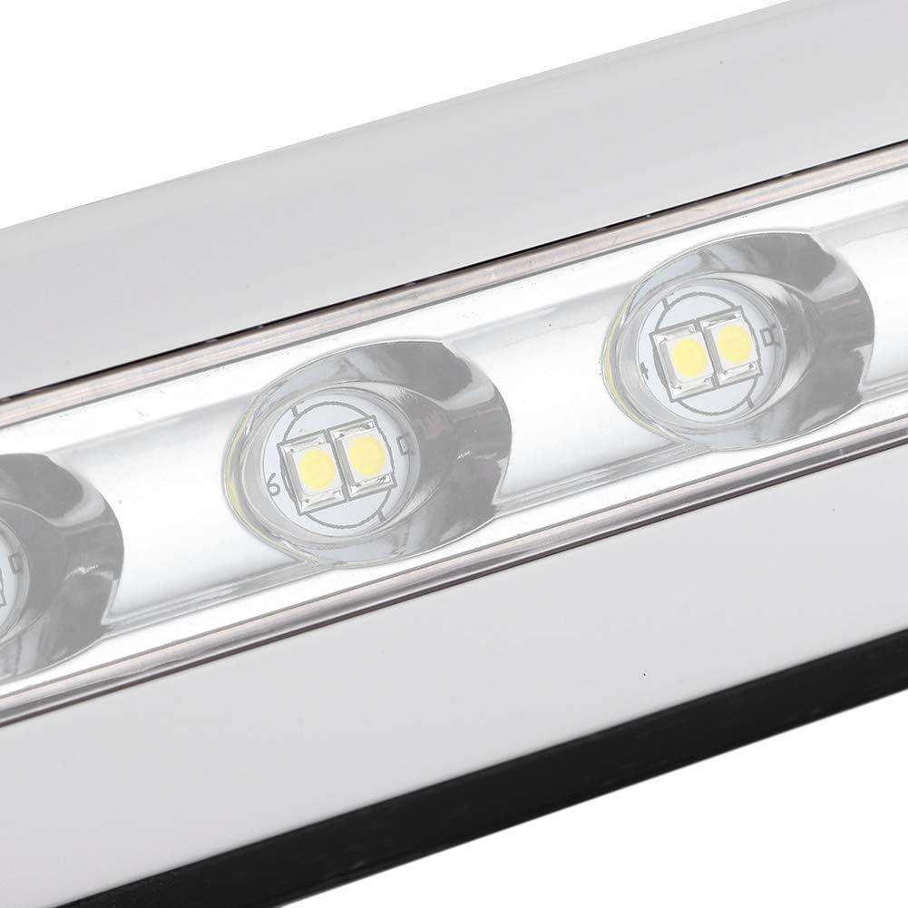 Qiilu RV lumi/ère LED 12V//24V RV lumi/ère LED universelle 8W auvent /étanche porche lampe Bar camping-car /éclairage ext/érieur