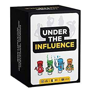 Under The Influence: Fun Drinking Games for Adults – Best Party Card Game Ever (Over 10 Games in 1)