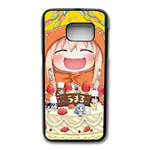 Grouden R Create and Design Phone Case,Himouto Umaru-chan Anime Cell Phone Case for Samsung Galaxy S7 Edge Black + 1*Touch Stylus Pen (Free) GHL-2959301