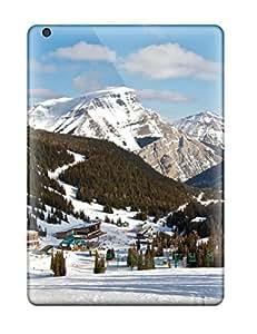 Ipad Air Case Cover Skin : Premium High Quality Attractive Snow Mountain Case