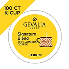 Experience Gevalia's signature medium-bodied mild roast coffee made from 100% Arabica beans. Savor each sip and enjoy the rich aroma that will wake up your taste buds any time of day. - Convenient and Delicious - Enjoy a scrumptuous cup of co...
