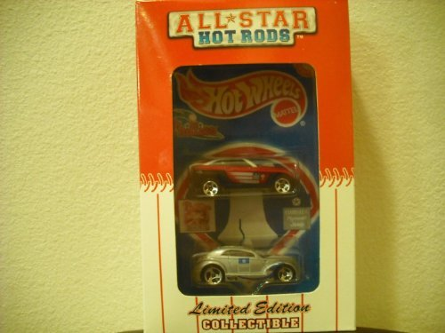 Hot Wheels All Star Hot Rods Philadelphia Phillies 2000 Jeepster & Pronto Limited Editon Collectible 2 Pack