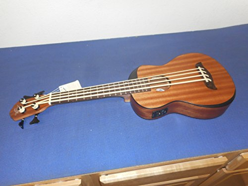 Oscar Schmidt OUB200K Comfort Series Bass Ukulele with Preamp, Volume, Bass and Treble Controls - Natural